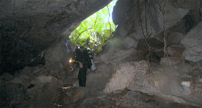 Cave diving Bayahibe